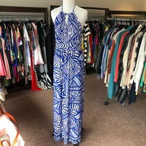 Charming Charlie's maxi dress blue